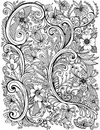 Rosemaling Coloring Page Products Coloring Pages Color Ink Doodles