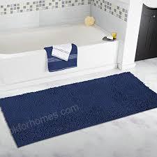 mayshine 27 5x47 inch non slip bathroom rug runner machine washable bath mats