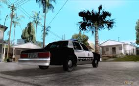 1986 Chevrolet Caprice Classic LVMPD for GTA San Andreas