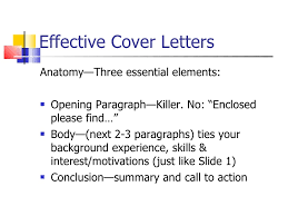 Effective Covering Letters Effective Resume And Cover Letter Writing Techniques