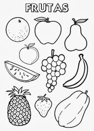 Small Picture Printable fruit coloring page Free PDF download at http