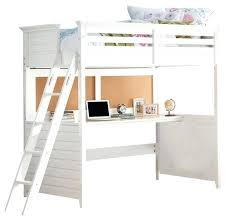 student loft bed with desk twin loft bed with desk white finish transitional loft beds college