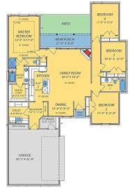 16 awesome split bedroom floor plan