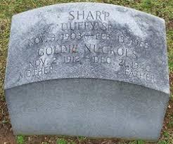 Goldie Myrtle Nuckols Sharp (1912-1940) - Find A Grave Memorial