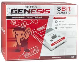 Купить <b>Игровая</b> консоль <b>RETRO</b> GENESIS 300 игр, белый ...