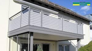 Balkongel Nder Alu Ab 127 Kaupp Balkone Sterreich Balkongelaender Alu