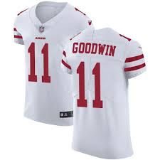 Goodwin Francisco Elite White Nike - Road Jersey 11 Marquise San Men's 49ers Nfl abbebdcdceefedd Because Your Buddy Was Reduce From The Staff?