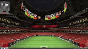Mercedes Stadium Seating Chart Atlanta Atlanta Uniteds Virtual Venue Seating For Mercedes Benz