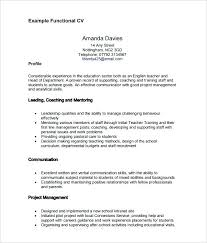 Free Functional Resume Template Best Of Resume Functional Format Resume Functional Template Example Of