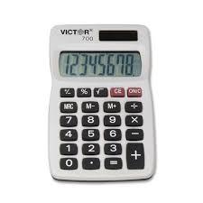 handheld calculator image information victor