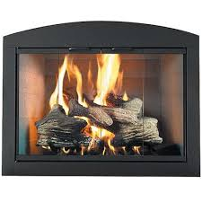 Heritage Arch Plate Custom Masonry Fireplace Door | Northline Express