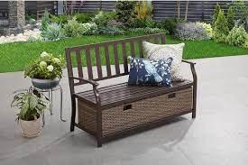 20 best outdoor cushion storage bench