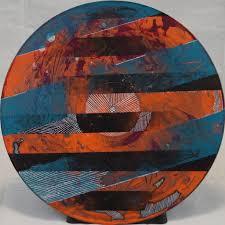 ... Hand Painted Vinyl Record - Thumbnail 2 ...