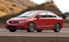 2009 Honda Civic Si Sedan Rallye Red Pov Test Drive Youtube