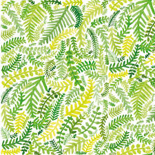 Designs Made From Leaves Fern Pattern Notebook Illustrated A5 Notebook Little