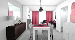 ... Beautiful Idee Deco Salon Blanc Gris Rouge Pictures Amazing House Avec  Deco Salon Gris Blanc Rouge Deco Salon Rouge Et ...
