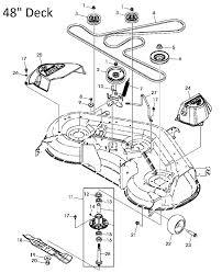 John deerex140 belt sheaves spindles and blades exploded parts diagram