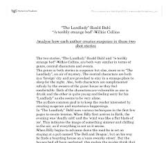 the landlady roald dahl a teribly strange bed wilkie collins  document image preview