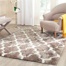 awesome white area rugs ideas in plush rug inside inspirations 6