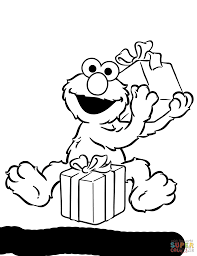 Small Picture Sesame Street Coloring Pages glumme