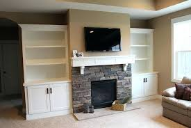 white built in bookcases white built ins around stone fireplace ideas white built ins next to