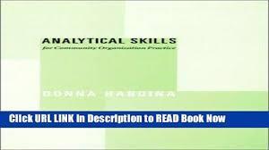 popular books analytical skills for community organization 00 20