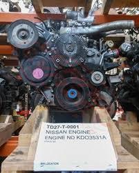 NISSAN ENGINE TD27 - COMPLETE ENGINE - NISSAN - COMPLETE ENGINE ...