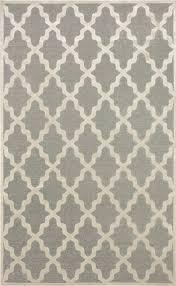 contemporary trellis vl06 area rug carpet light dark grey cream machine woven