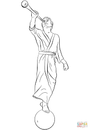 Small Picture Angel Moroni coloring page Free Printable Coloring Pages