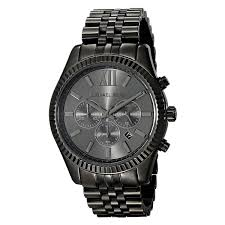michael kors mk8346 men s lexington chronograph gunmetal dial michael kors mk8346 men s lexington chronograph gunmetal dial gunmetal ip steel crystal watch
