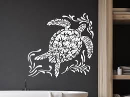 sea turtle wall decals tortoise