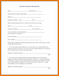 Medical Records Request Forms Dental Release Form Wowcircletk 6