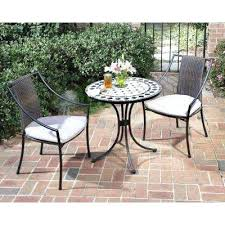 amalfi 4 piece rattan patio set. full image for black and tan 3 piece tile top patio bistro set with taupe cushions amalfi 4 rattan o