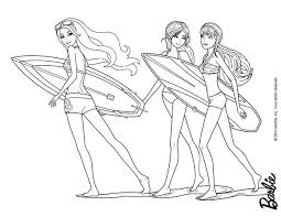 Small Picture Barbie Mermaid Coloring Pages GetColoringPagescom