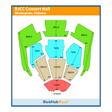Bjcc Concert Hall Seating Chart Map Acer C710 Lipo Control