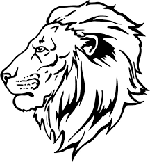 Small Picture Projects Inspiration Lion Head Coloring Pages Free Printable Lion