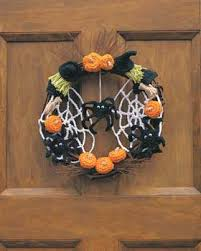 Halloween Crochet Patterns Awesome Halloween Wreath Crochet Pattern FaveCrafts