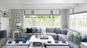 gorgeous gray living room. Home Design Inspiration: Gorgeous Gray And Blue Living Room With White Plank Coffee Table Cottage Y