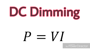 Image result for dc dimming