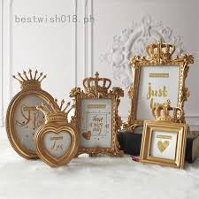 <b>Luxury Baroque</b> Style Desktop Resin Picture Photo Frame Gold ...