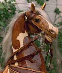 this horse can be used as a rocking horse and if you wisch when the children have grown up as a carousel horse waiting for the next generation