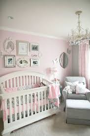 Soft and Elegant Gray and Pink Nursery