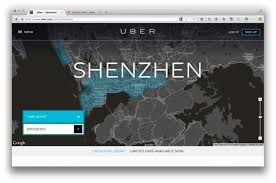 Uber Fare Quote Cool Uber Hits Streets Of Shenzhen Its Second City In China
