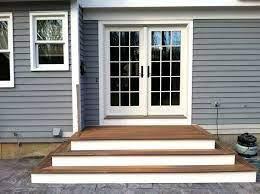 patio door steps