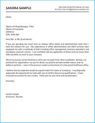 Administrative Cover Letter Example Astounding Administration Cover Letter As An Extra Ideas