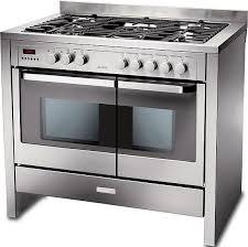 electrolux cooker. electrolux ekm10460x 100cm dual fuel range cooker c