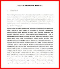 Project Proposal Apa Format Example Of Formal Proposal Apa Example Threeroses Us