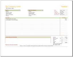 Invoice Type 3 Free Invoice Templates To Build Any Type Of Invoice