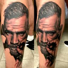 First Session Conor Mcgregor Portrait Scars Stories Tattoo