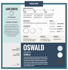 good fonts for resumes